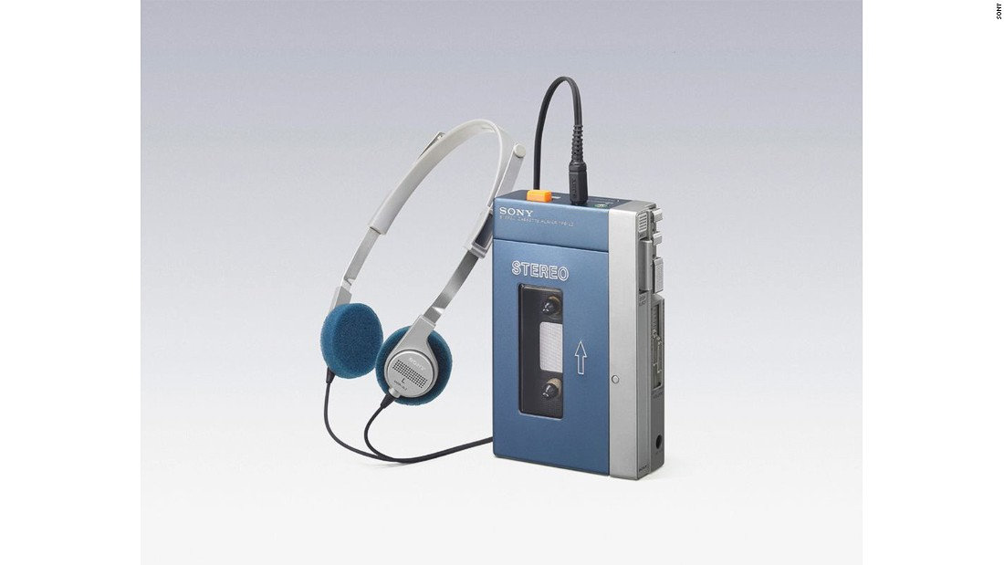 "Sony's stereo cassette player, the ""Walkman"", changed the way we listen to music. It enabled people to listen to cassette tapes on the go. Sony announced the Walkman to the public in 1979 and after a month in Japanese stores it had sold out. It soon became popular worldwide, with the term ""Walkman"" becoming a byword for any portable tape player."