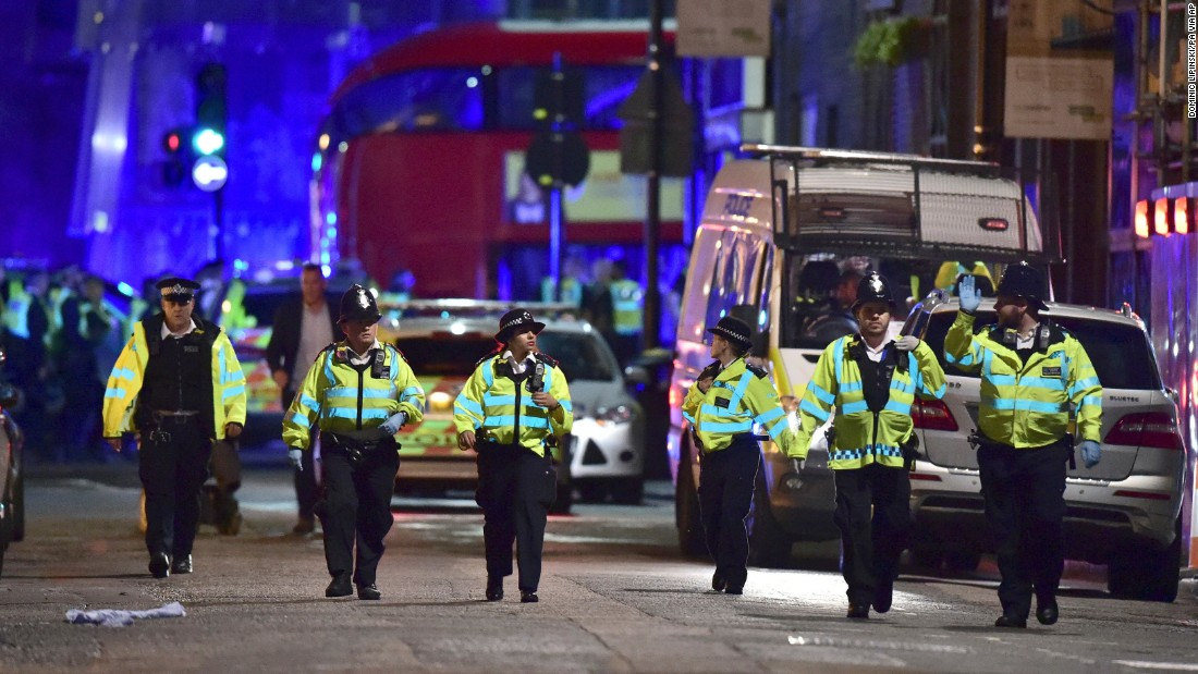London terror attack: Police fired 'unprecedented' number of rounds