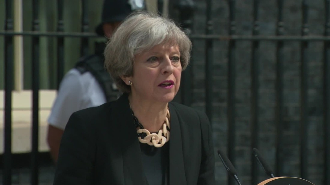 See British PM's full remarks on terror attack