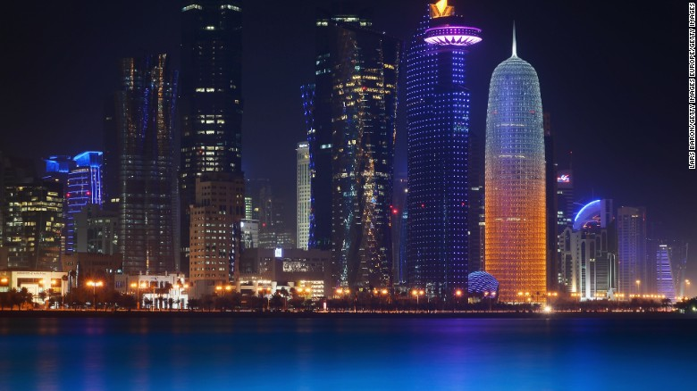 Qatar accused of supporting terror