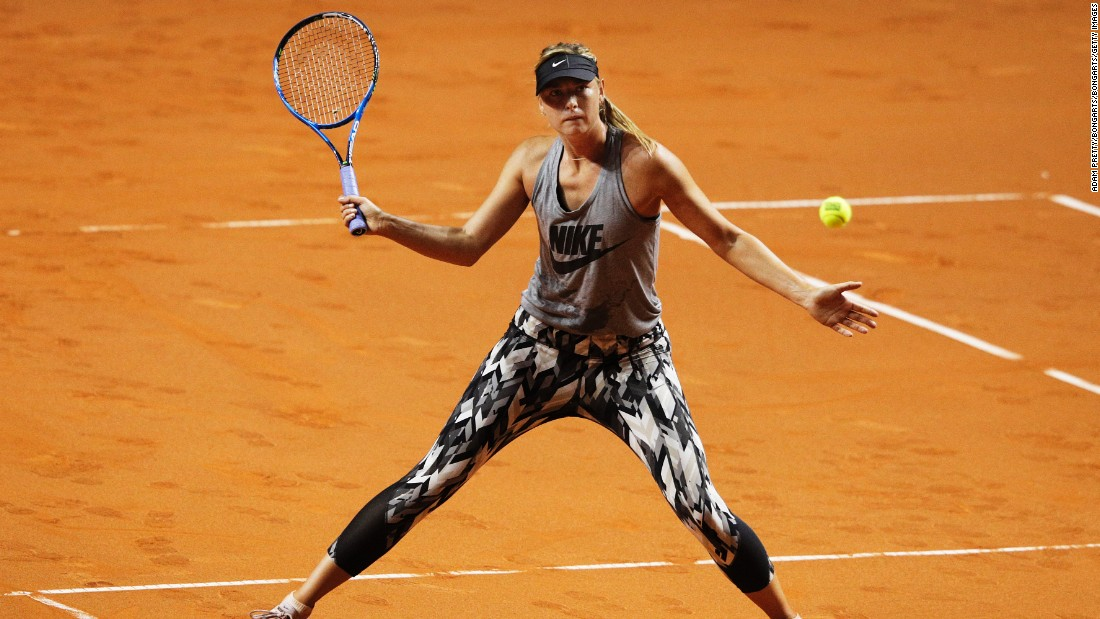 "Although Sharapova was denied a wild card into Roland Garros following her drug ban, Nike had already made her French Open outfits. ""Sharapova had oufits for all five slams she has missed out on, there is a missing era of Sharapova fashion going on now,"" said Ben Rothenberg, tennis contributor to the New York Times."