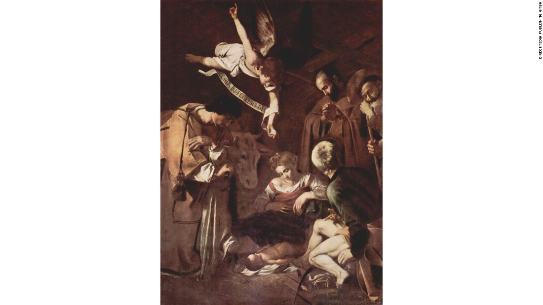 "Caravaggio's ""Nativity with St. Francis and St. Lawrence"" was stolen in 1969 from a church in Palermo by members of Cosa Nostra. It has never been recovered. Its theft prompted the foundation of the world's first dedicated art recovery police unit, called Tutela Patrimonio Culturale, or the Division for the Protection of Cultural Heritage. A mafia informant claimed that the Caravaggio was damaged in an earthquake and fed to pigs, but one hopes this is not the case."