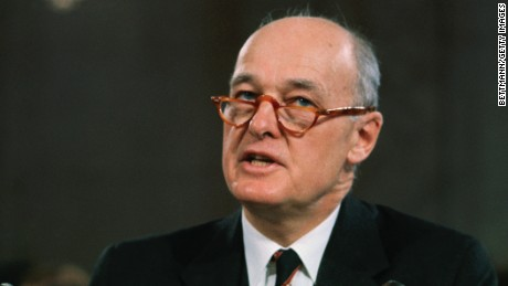 Former Ambassador George F. Kennan testifies about the Vietnam War.
