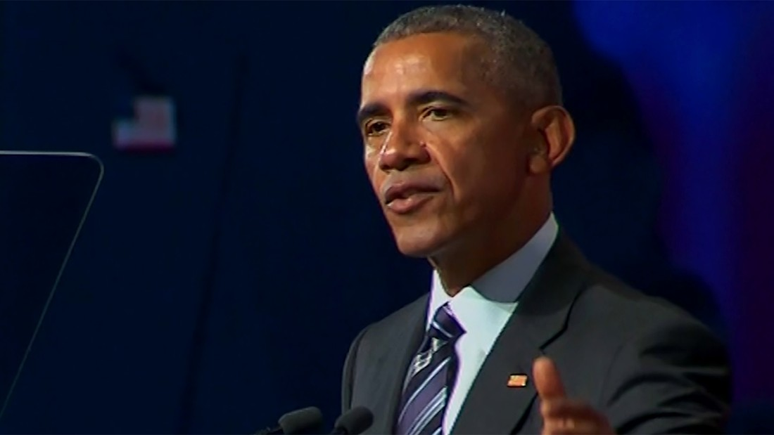 In Montreal speech, Obama warns about appeal of authoritarianism