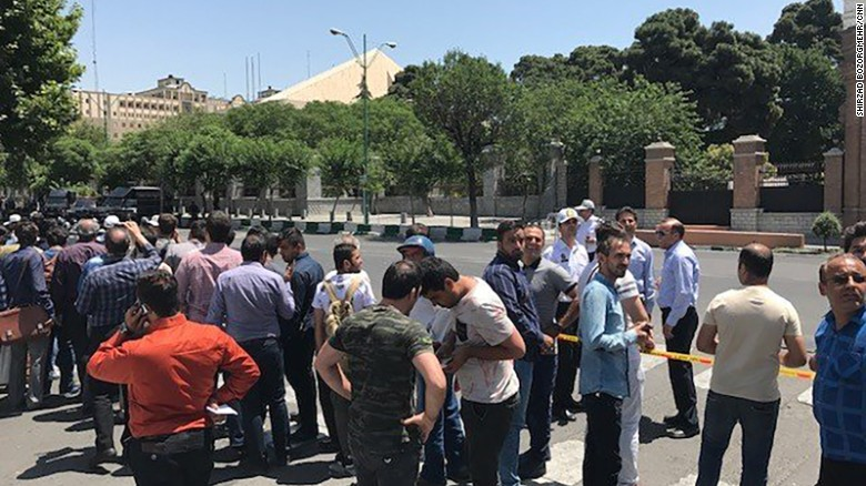 Reports of shooting inside Iran's parliament