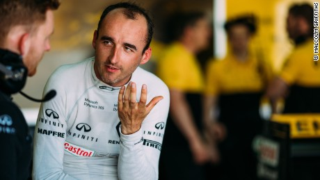 Robert Kubica completed a F1 test with his former team Renault on Tuesday