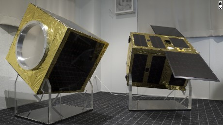 Astroscale's demonstration satellite.
