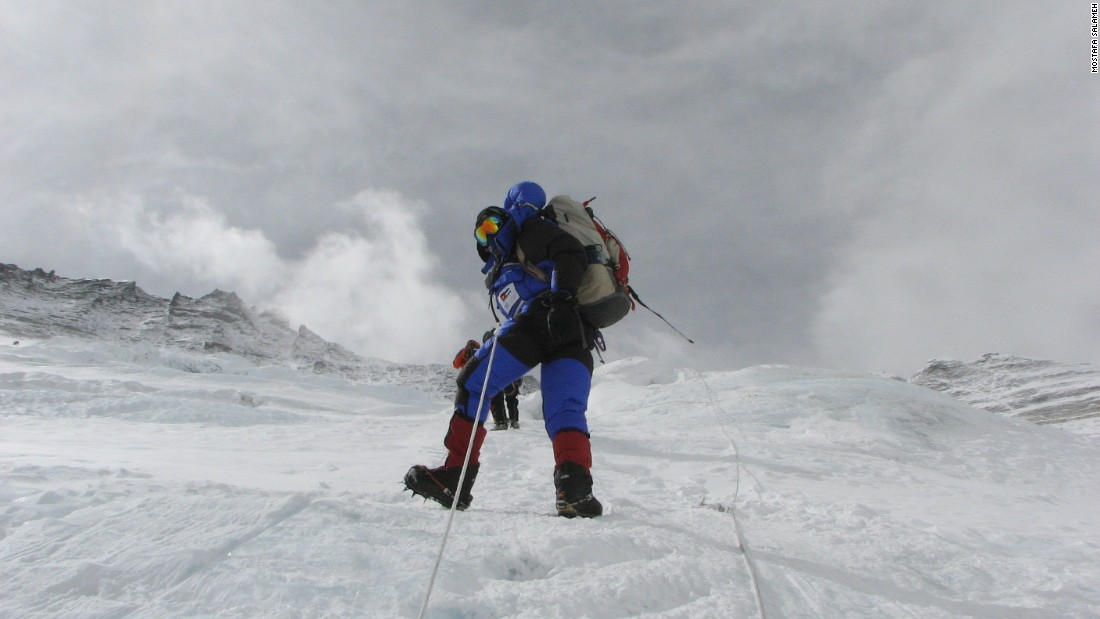 Mostafa Salameh has become the first Jordanian to complete the Explorers Grand Slam -- having climbed the Seven Summits and reached the North and South poles.