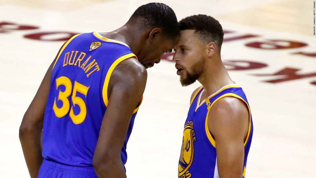 Durant and Curry were a potent 1-2 punch for the Warriors all series.