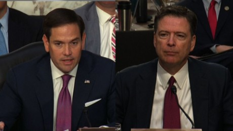 Rubio to Comey: Why no pro-Trump leak?