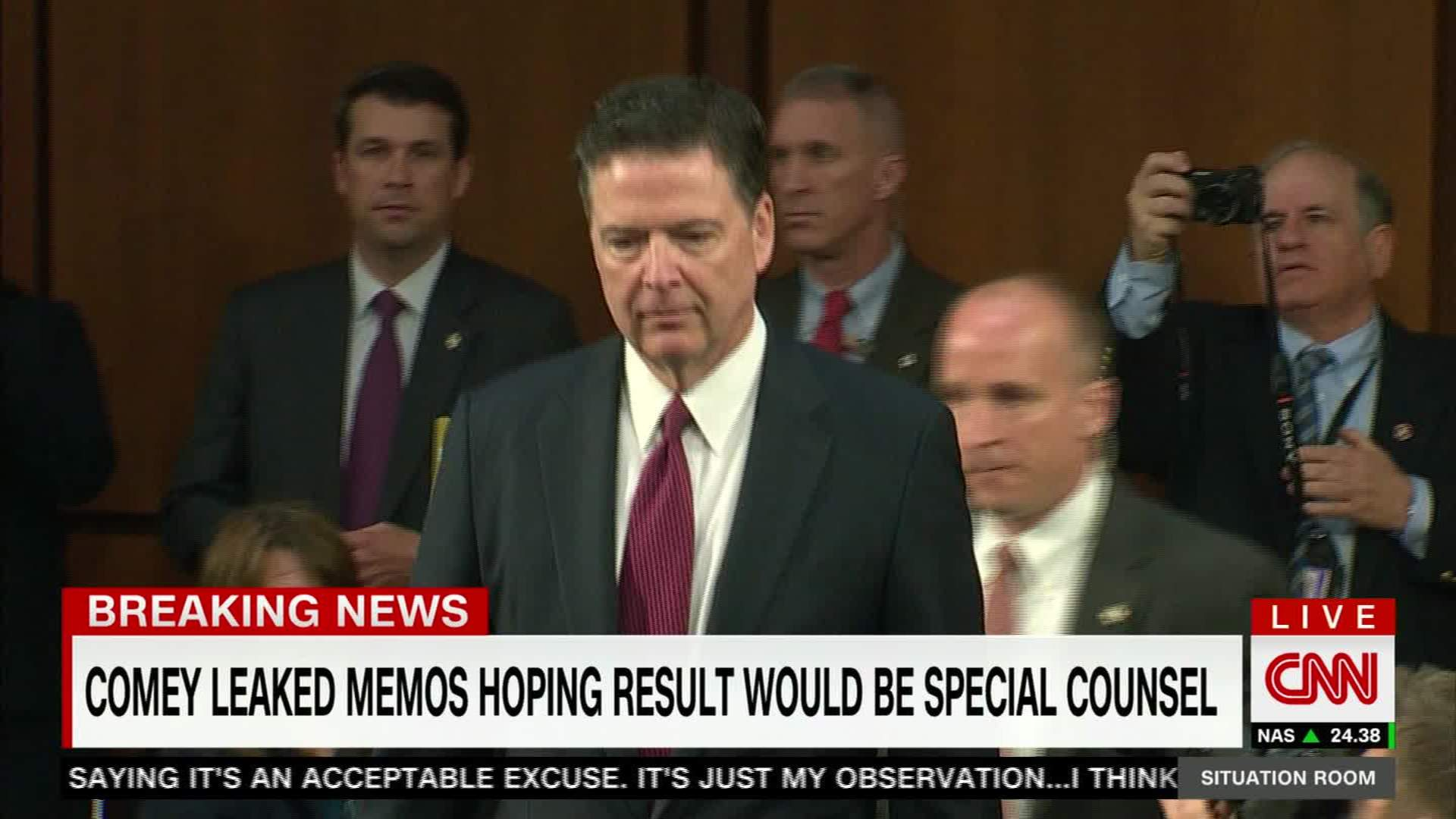 Comey Tried To Get Special Counsel Named   CNN Video