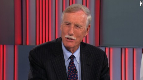 Senator Angus King on ac360