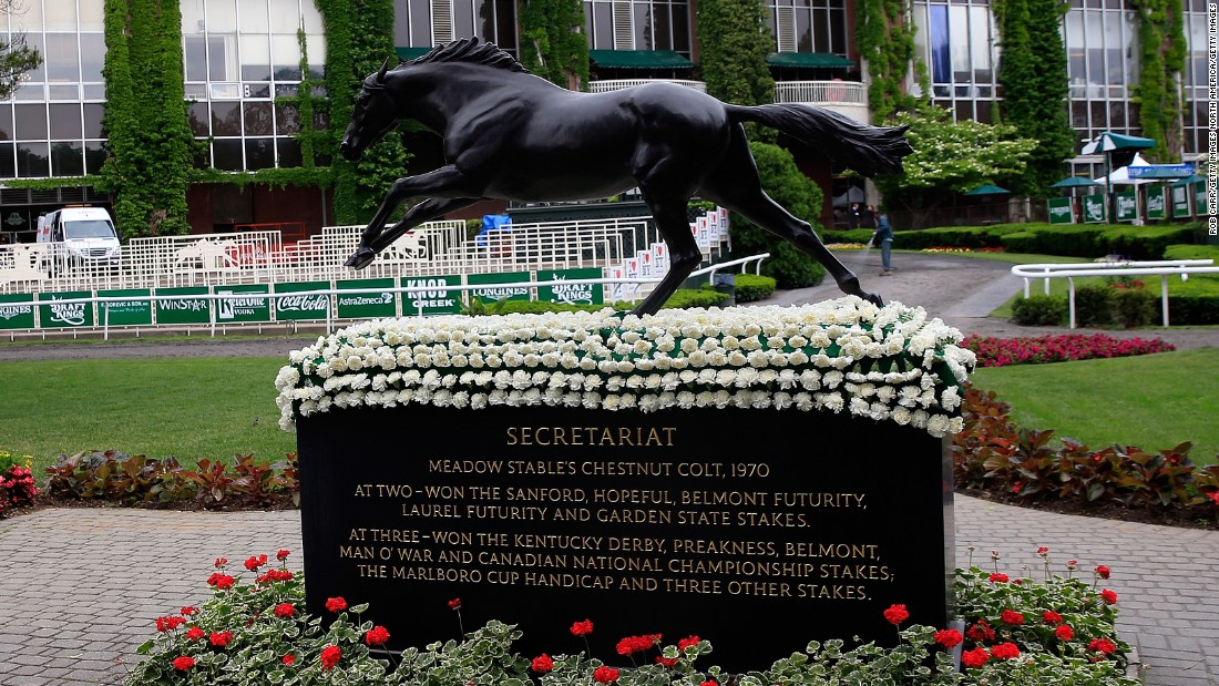 One of the most celebrated champions was Secretariat, which won by 31 lengths in a record time of 2:24 in 1973.