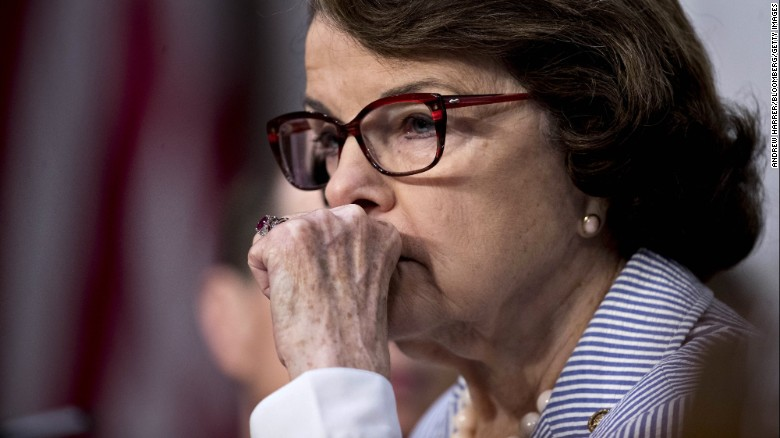Lynch conduct makes Feinstein 'queasy'