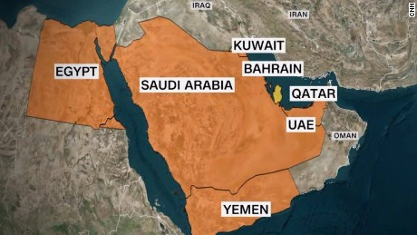 "US: Gulf nations have presented a ""List of demands"" to Qatar"