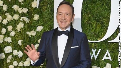 NEW YORK, NY - JUNE 11: Kevin Spacey attends the 2017 Tony Awards at Radio City Music Hall on June 11, 2017 in New York City.  (Photo by Dimitrios Kambouris/Getty Images for Tony Awards Productions)