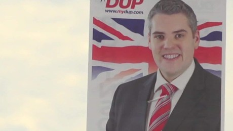 Northern Ireland DUP Theresa May deal Nic Robertson PKG_00000525