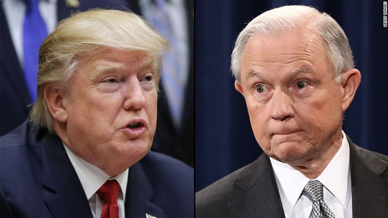 Sessions praises Trump day before testimony