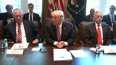 Donald Trump just held the weirdest Cabinet meeting ever