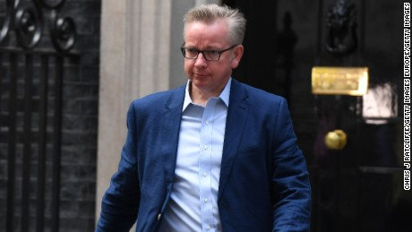Michael Gove is the UK  Environment Secretary.