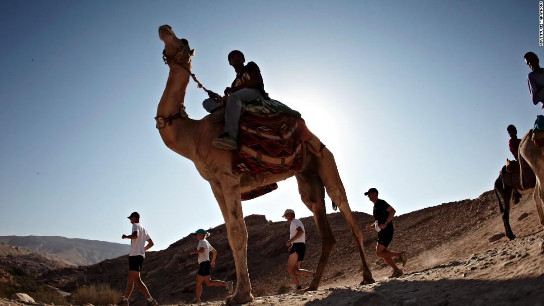 Held a few weeks before the Polar event is the Petra Desert Marathon in Jordan. Perhaps the hottest of the runs organized by Albatros, it weaves through the ancient city of Petra, taking in sandstone mountains, tombs, caves, and ampitheaters.