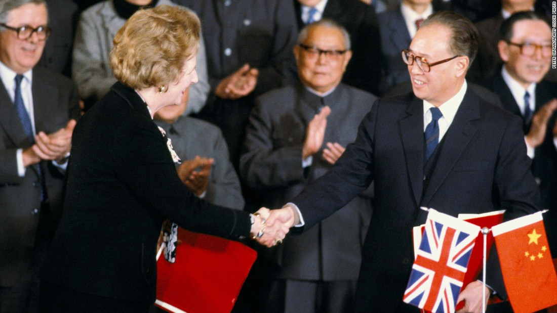The secret negotiations that sealed Hong Kong's future