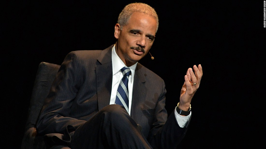 Holder: Trump 'crossed the line' saying Obama didn't call Gold Star families