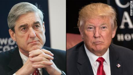 Robert Mueller (l) and Donald Trump (r)PIERRE VERDY/AFP/Getty Images