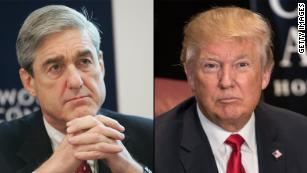 Trump says he is not considering firing Mueller