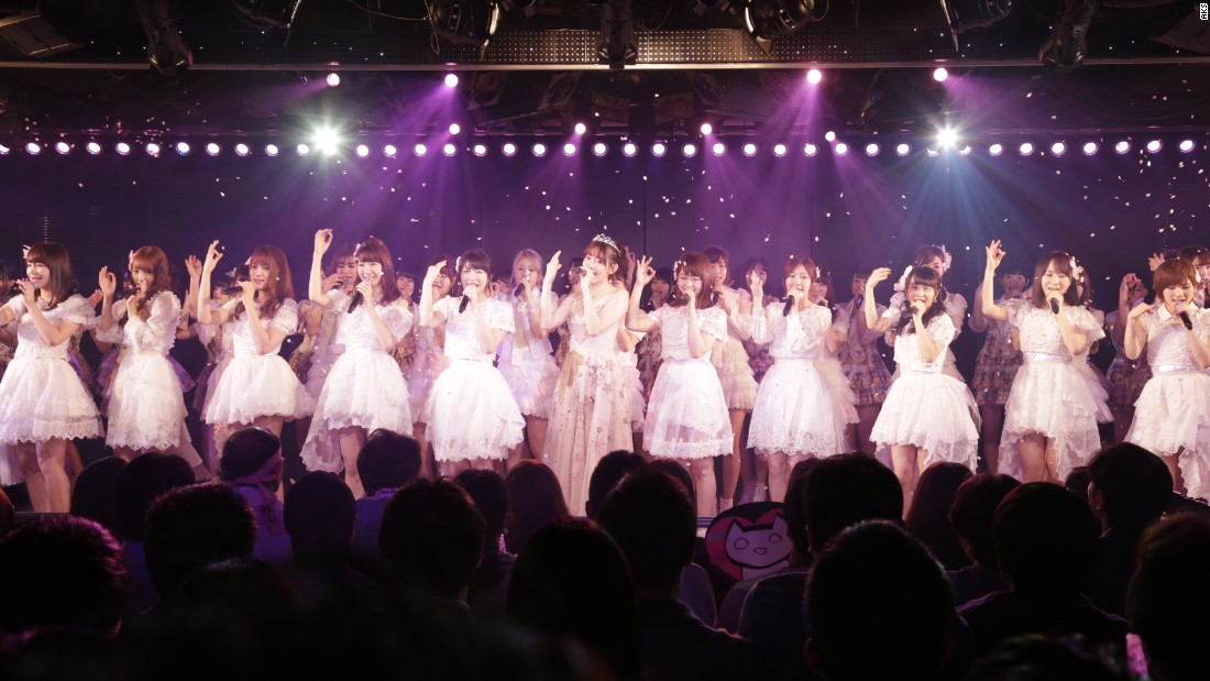 Japanese pop band AKB48 includes more than 120 members.