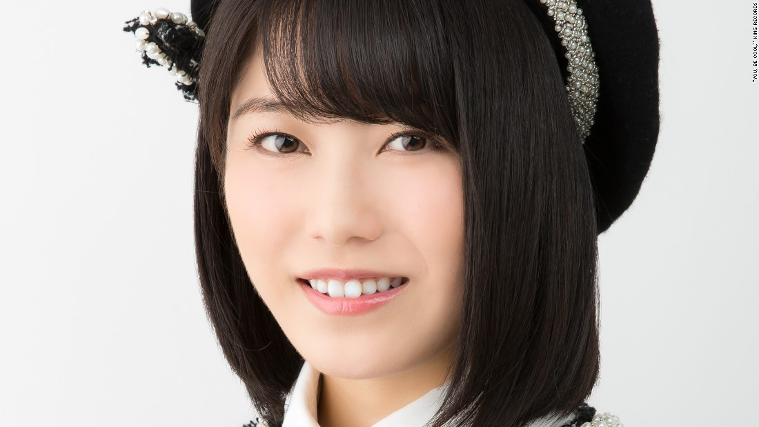 Yui Yokoyama, the team leader of AKB48