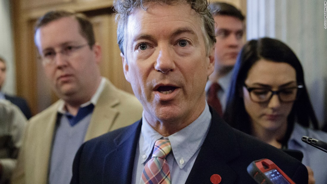 Sen. Rand Paul: 'Senate leadership is not negotiating with our office'