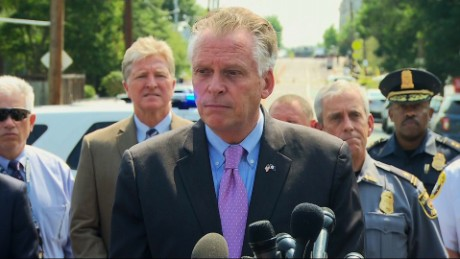 Virginia governor: Too many guns on the street
