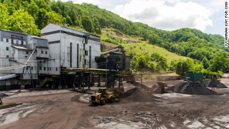 A view of the Superior Processing  Inc. coal mine in McDowell County, West Virginia.