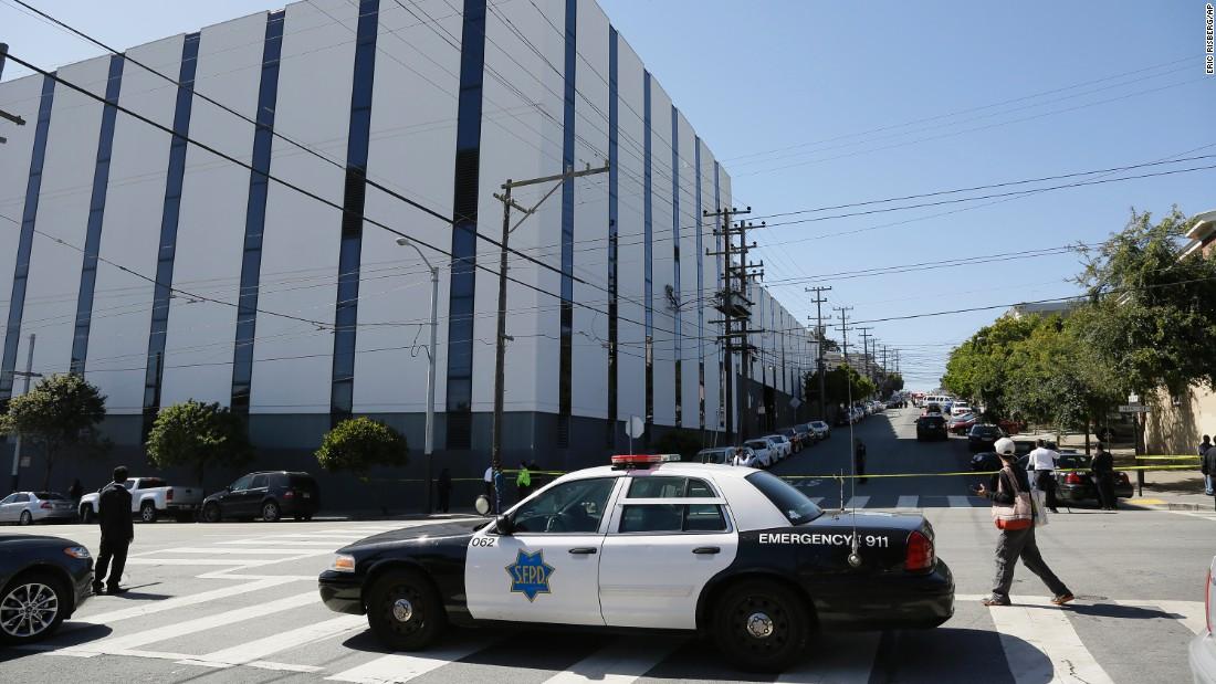 Gunman kills 2, shoots self at San Francisco UPS facility, police say