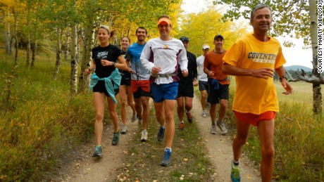This Boulder, Colorado running group has been together 20 years. For the last 11, they've adopted mindfulness techniques.