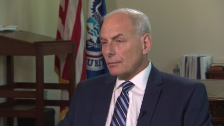 Six months in, Kelly's military background still influences DHS secretary