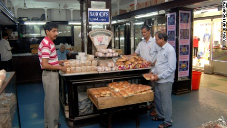 Muslim workers at the 115-year-old Nahoum's confectionary, founded and owned by Jews, in downtown Kolkata.