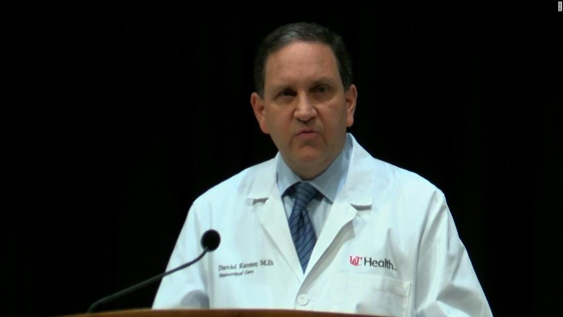 Doctors: Ex-North Korea detainee Otto Warmbier has severe brain injury, no signs of botulism