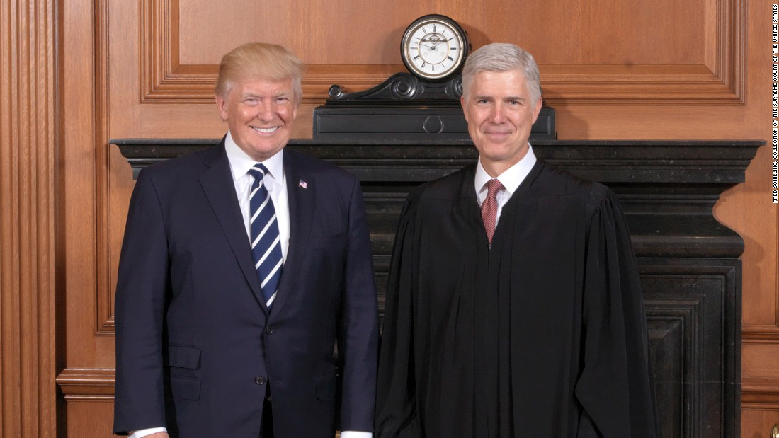 Neil Gorsuch just joined a long list of people not loyal enough to Donald Trump