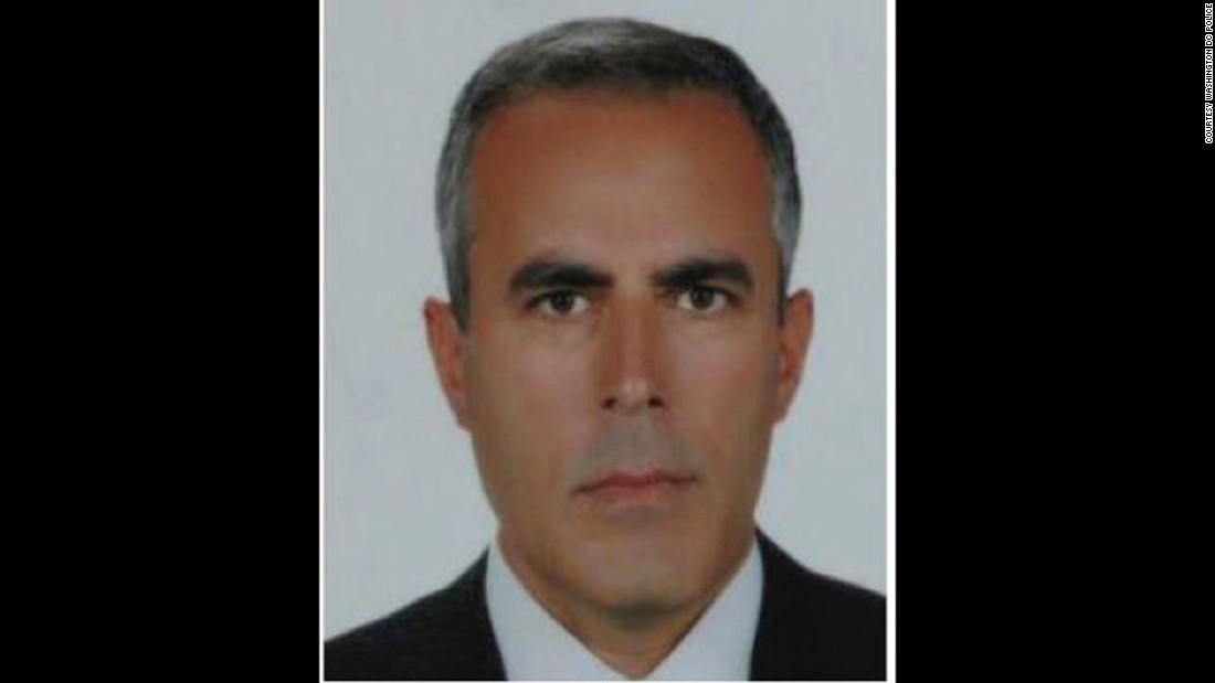 Ahmet Karabay is on the suspect list issued following clashes outside the Turkish ambassador's residence in Washington, D.C in May. Karabay is a Turkish security officer.