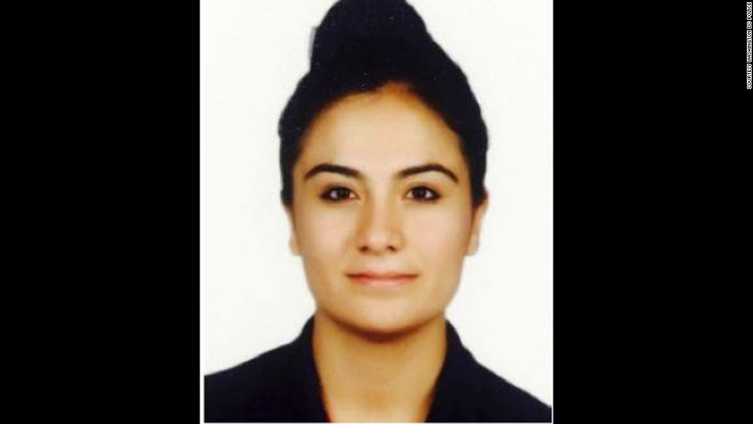 Feride Kayasan is on the suspect list issued following clashes outside the Turkish ambassador's residence in Washington, D.C in May. Kayasan is a Turkish security officer.