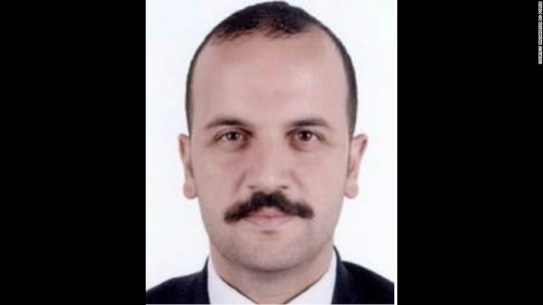 Gokhan Yildirim is on the suspect list issued following clashes outside the Turkish ambassador's residence in Washington, D.C in May. Yildirim is a Turkish security officer.
