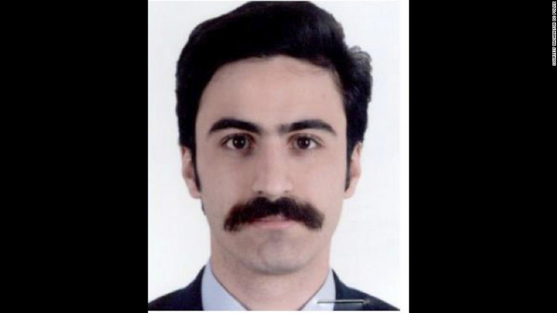 Hamza Yurteri is on the suspect list issued following clashes outside the Turkish ambassador's residence in Washington, D.C in May. Yurteri is a Turkish police officer.