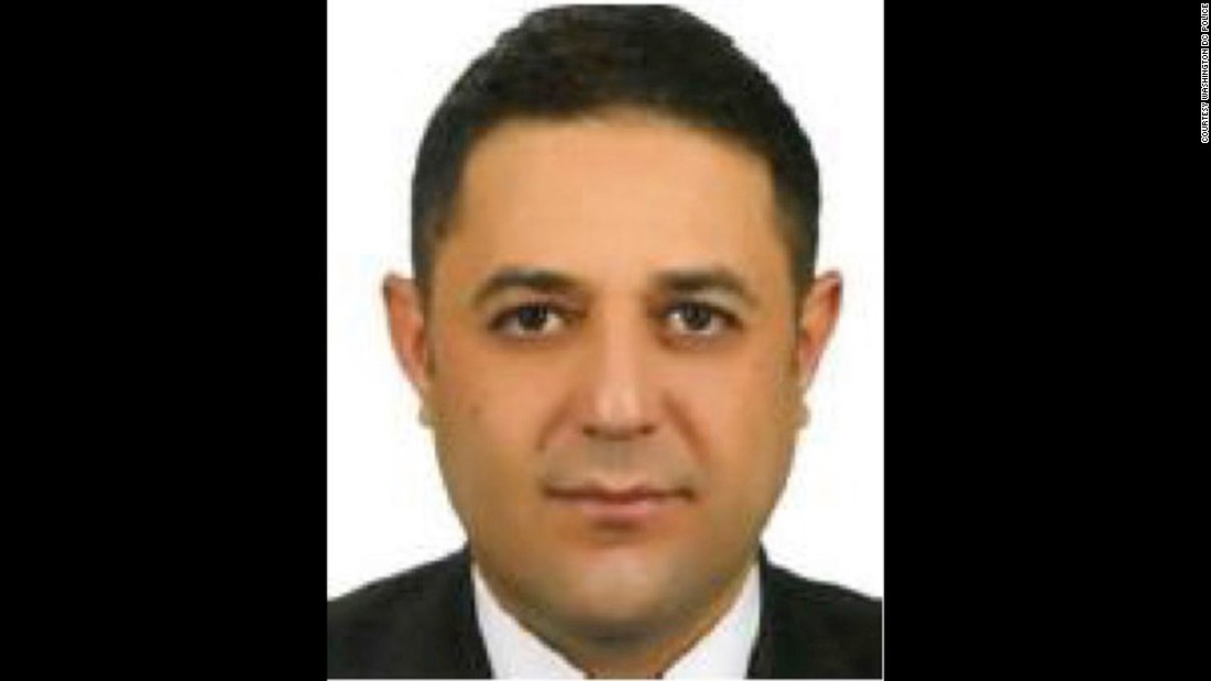 Lutfu Kutluca is on the suspect list issued following clashes outside the Turkish ambassador's residence in Washington, D.C in May. Kutluca is a Turkish security officer.