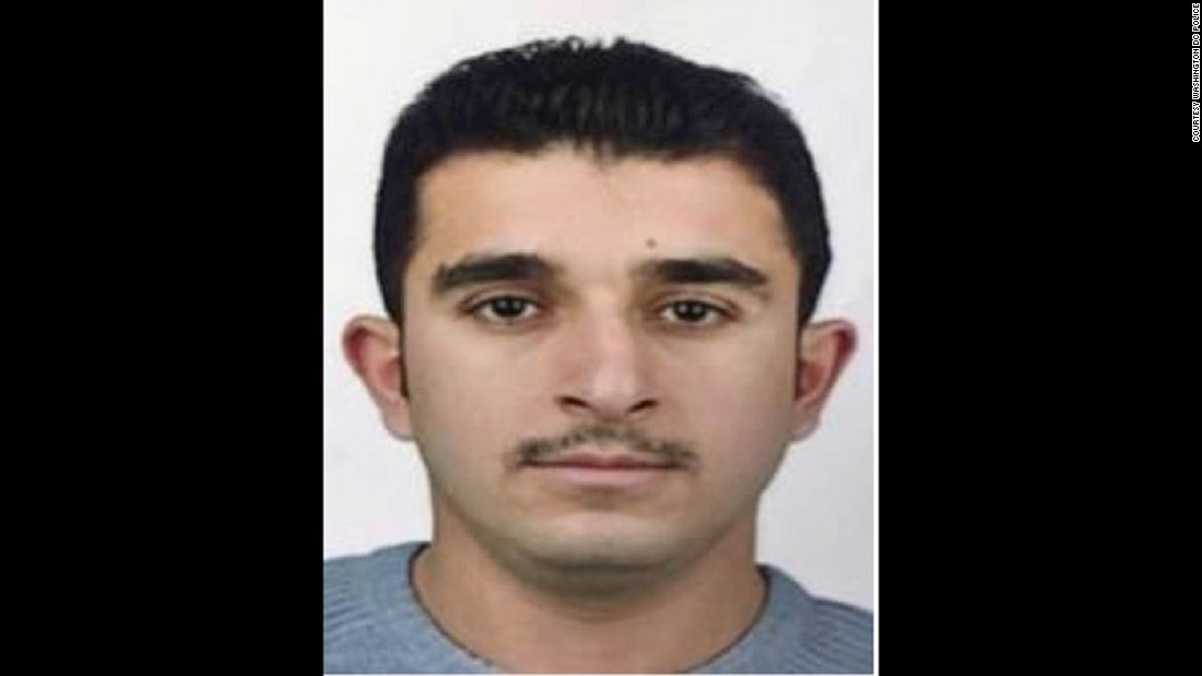 Mamet Samman is on the suspect list issued following clashes outside the Turkish ambassador's residence in Washington, D.C in May. Sarman is a Turkish police officer.