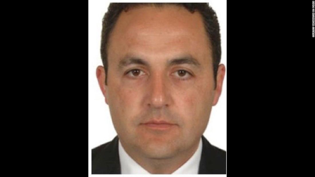 Mustafa Sumercan is on the suspect list issued following clashes outside the Turkish ambassador's residence in Washington, D.C in May. Sumercan is a Turkish security officer.