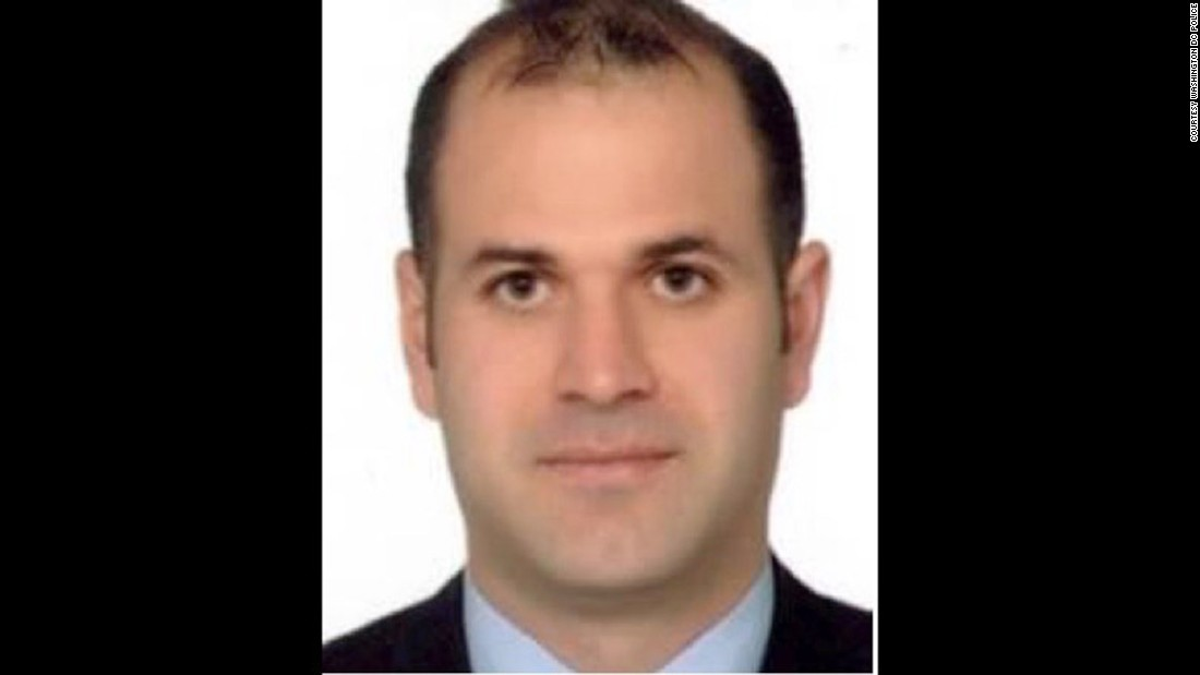 Server Erkan is on the suspect list issued following clashes outside the Turkish ambassador's residence in Washington, D.C in May. Erkan is a Turkish security officer.