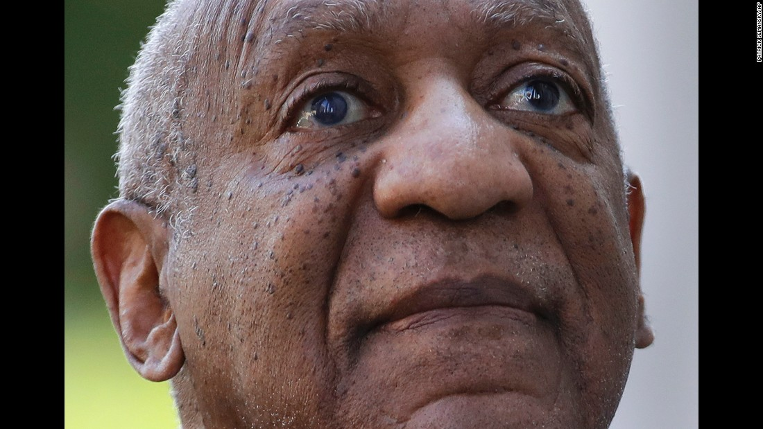 "Comedian Bill Cosby arrives at a courthouse for <a href=""http://www.cnn.com/2017/06/15/us/bill-cosby-trial-verdict/index.html"" target=""_blank"">his trial</a> in Norristown, Pennsylvania, on Tuesday, June 13. He is charged with three counts of aggravated indecent assault from a 2004 case involving Andrea Constand, an employee at his alma mater, Temple University. He has pleaded not guilty to all charges."