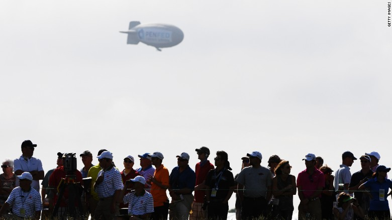 US OPEn 2017 blimp